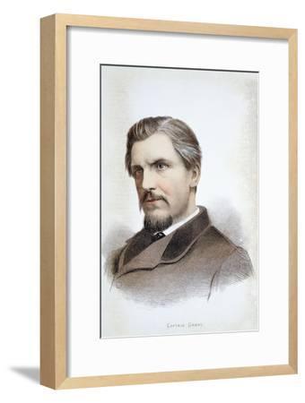 Captain James Augustus Grant, Scottish explorer, 19th century-Unknown-Framed Giclee Print