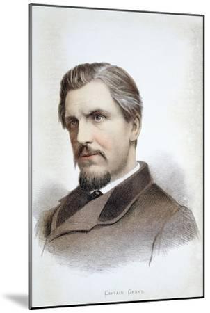 Captain James Augustus Grant, Scottish explorer, 19th century-Unknown-Mounted Giclee Print