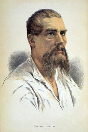 Sir Richard Francis Burton, British explorer, late 19th century-Unknown-Framed Giclee Print
