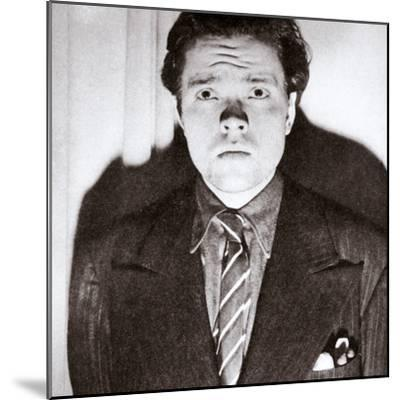 Orson Welles, American actor and film director, 30 October 1938-Unknown-Mounted Photographic Print