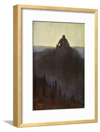 'Wotan Waits in Valhalla for the End with his Broken Spear', 1906-Unknown-Framed Giclee Print