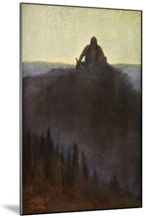 'Wotan Waits in Valhalla for the End with his Broken Spear', 1906-Unknown-Mounted Giclee Print