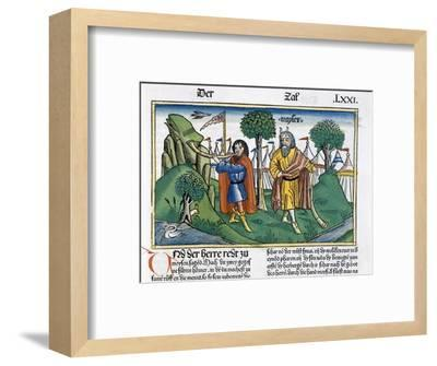 Facsimile copy of Numbers 2 the camp assignments of the Israelites-Unknown-Framed Giclee Print
