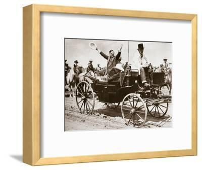 Wendell Willkie, American politician, Cheyenne, Wyoming, USA, 1940-Unknown-Framed Photographic Print