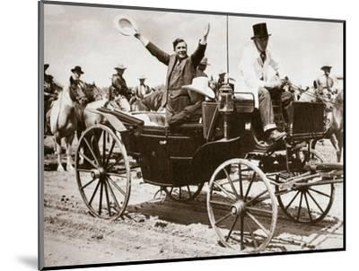 Wendell Willkie, American politician, Cheyenne, Wyoming, USA, 1940-Unknown-Mounted Photographic Print