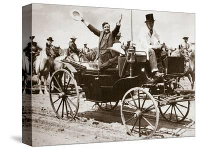 Wendell Willkie, American politician, Cheyenne, Wyoming, USA, 1940-Unknown-Stretched Canvas Print
