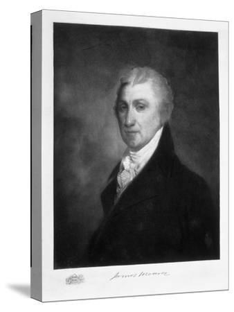 James Monroe, 5th President of the United States of America, (1901)-Unknown-Stretched Canvas Print
