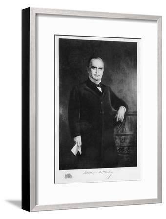 William McKinley, 25th President of the United States, 19th century-Unknown-Framed Giclee Print