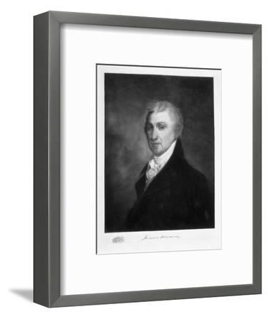 James Monroe, 5th President of the United States of America, (1901)-Unknown-Framed Giclee Print