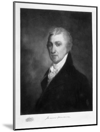 James Monroe, 5th President of the United States of America, (1901)-Unknown-Mounted Giclee Print
