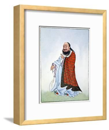 Lao-Tzu, ancient Chinese philosopher and inspiration of Taoism, 1922-Unknown-Framed Giclee Print