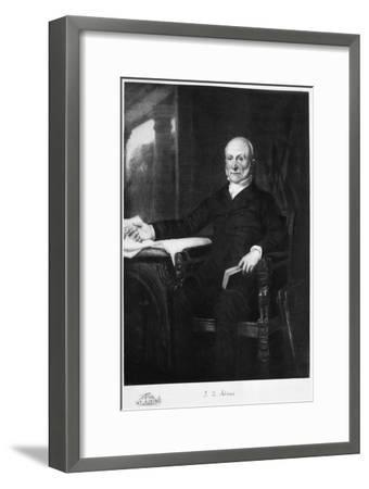 John Quincy Adams, 6th President of the United States of America, (1901)-Unknown-Framed Giclee Print