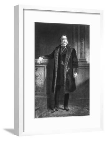 Chester A Arthur, 21st President of the United States of America, (1901)-Unknown-Framed Giclee Print