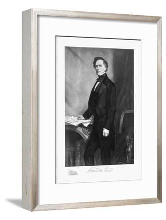 Franklin Pierce, 14th President of the United States of America, (1901)-Unknown-Framed Giclee Print