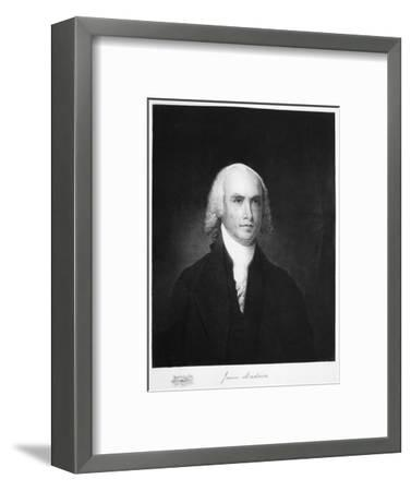 James Madison, 4th President of the the United States of America, (1901)-Unknown-Framed Giclee Print