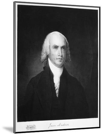James Madison, 4th President of the the United States of America, (1901)-Unknown-Mounted Giclee Print