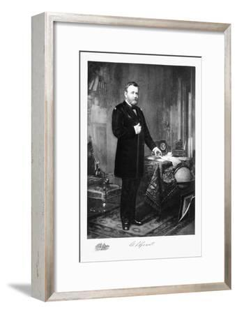 Ulysses S Grant, 18th President of the United States of America, (1901)-Unknown-Framed Giclee Print