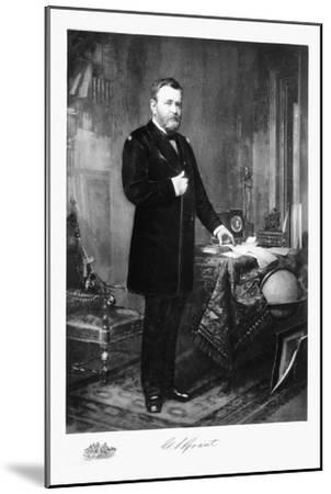 Ulysses S Grant, 18th President of the United States of America, (1901)-Unknown-Mounted Giclee Print
