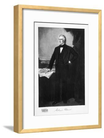 Millard Fillmore, 13th President of the United States of America, (1901)-Unknown-Framed Giclee Print
