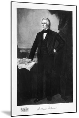 Millard Fillmore, 13th President of the United States of America, (1901)-Unknown-Mounted Giclee Print
