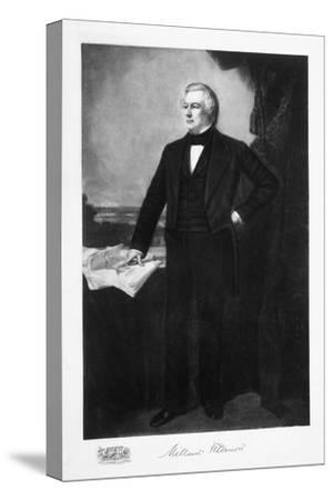Millard Fillmore, 13th President of the United States of America, (1901)-Unknown-Stretched Canvas Print
