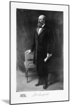 James A Garfield, 20th President of the United States of America, (1901)-Unknown-Mounted Giclee Print