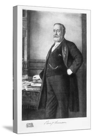 Benjamin Harrison, 23rd President of the United States of America, (1901)-Unknown-Stretched Canvas Print