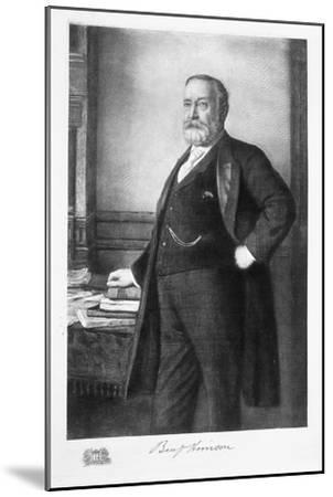 Benjamin Harrison, 23rd President of the United States of America, (1901)-Unknown-Mounted Giclee Print