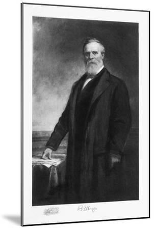 Rutherford B Hayes, 19th President of the United States of America, (1901)-Unknown-Mounted Giclee Print