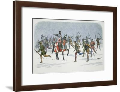 Strategem of Lord Fauconberg at the Battle of Towton, Yorkshire, 1461 (1864)-James William Edmund Doyle-Framed Giclee Print
