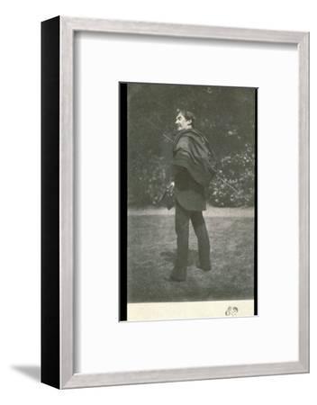 James Abbott McNeill Whistler, American-born British artist, late 19th century-Unknown-Framed Photographic Print