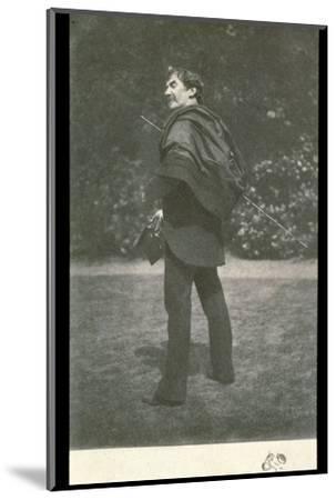 James Abbott McNeill Whistler, American-born British artist, late 19th century-Unknown-Mounted Photographic Print
