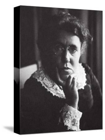 Emma Goldman, Russian-born American anarchist and agitator, early 20th century-Unknown-Stretched Canvas Print