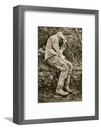 'Ich Hatte Einst Ein Schones Vaterland: Es War Ein Traum', early 20th century-Unknown-Framed Photographic Print