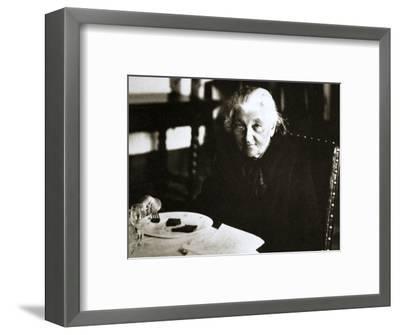 Katherina Breshkov-Breshuskay, Russian revolutionary activist, early 20th century-Unknown-Framed Photographic Print
