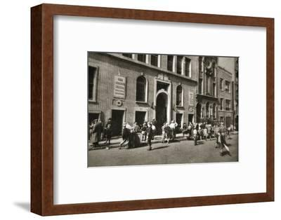 George Washington High School, Henry Street, Lower East Side, New York, USA, c1932-c1933-Unknown-Framed Photographic Print