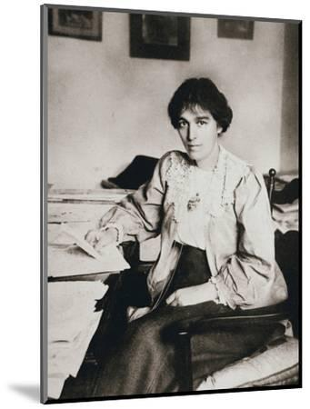 Mabel Tuke, Joint Honourary Secretary of the Women's Social and Political Union (WSPU), c1908-Unknown-Mounted Photographic Print
