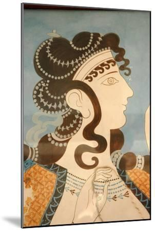 """Detail of one of the """"Blue Ladies""""-Werner Forman-Mounted Giclee Print"""