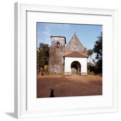 An old colonial church-Werner Forman-Framed Giclee Print