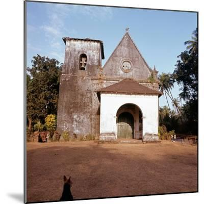 An old colonial church-Werner Forman-Mounted Giclee Print