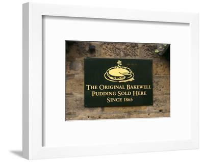 The Old Original Bakewell Pudding Shop, Bakewell, Derbyshire, 2005-Peter Thompson-Framed Photographic Print