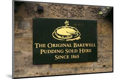 The Old Original Bakewell Pudding Shop, Bakewell, Derbyshire, 2005-Peter Thompson-Mounted Photographic Print