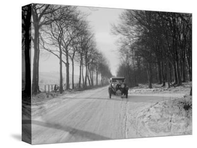 Talbot 14/45 sportsman's coupe of Kitty Brunell competing in the Monte Carlo Rally, 1929-Bill Brunell-Stretched Canvas Print