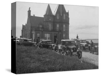 Cars competing in the B&HMC Brighton Motor Rally, John O'Groats, Scotland, 1930-Bill Brunell-Stretched Canvas Print