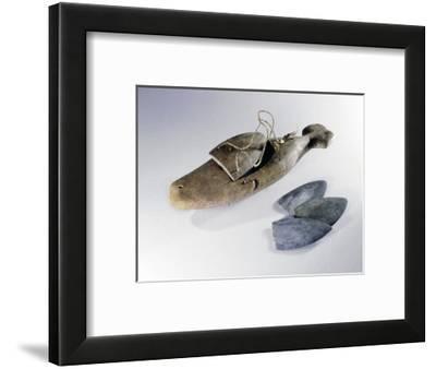 Eskimo box used as a charm-Werner Forman-Framed Giclee Print
