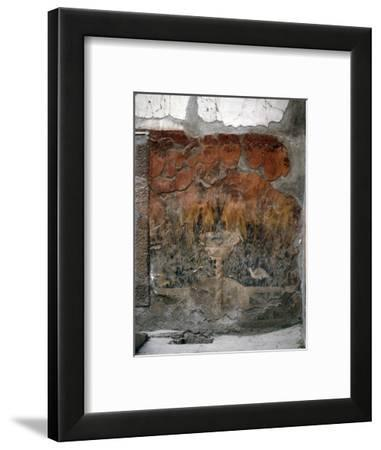 House of the Mosaic of Neptune and Amphitrite, Italy-Werner Forman-Framed Photographic Print