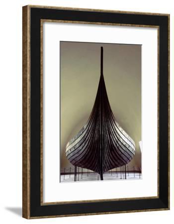The Gokstad Ship-Werner Forman-Framed Giclee Print