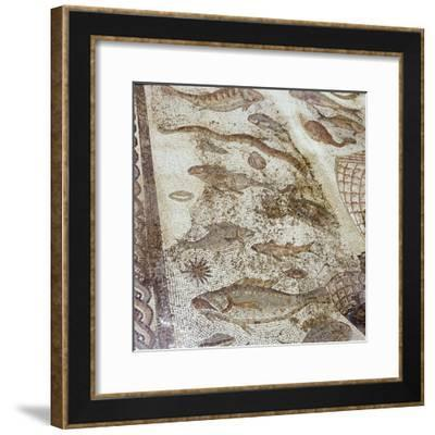 The ruins of the Roman town of Utica-Werner Forman-Framed Giclee Print