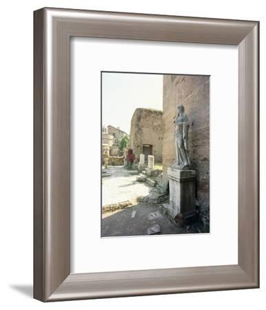 The Roman Forum-Werner Forman-Framed Giclee Print