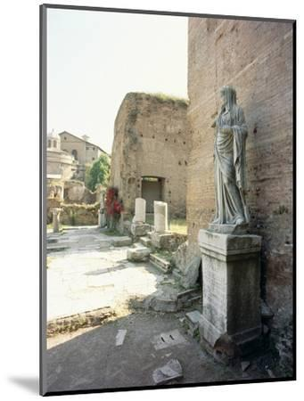 The Roman Forum-Werner Forman-Mounted Giclee Print